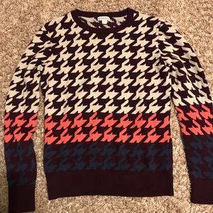 (L) Merona Houndstooth sweater